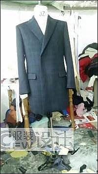 大衣作品-大衣款式图