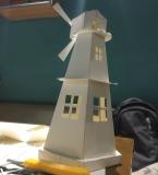 风车模型及绘画作品