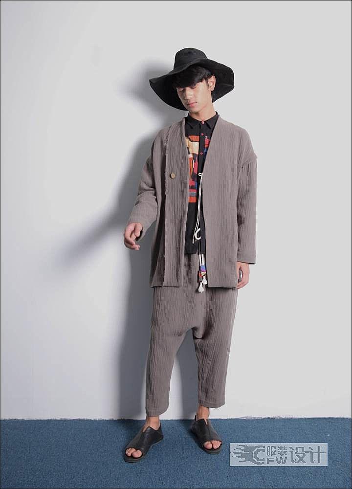 民國輕旅7-男裝設計-服裝設計