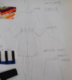 彩色条纹套装