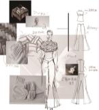 传统服饰云肩在现代服装中的创新应用