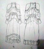 仙女印花裙