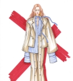 毕业设计、手绘、礼服作品集小