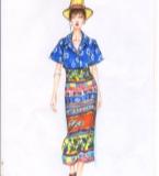 guanxiaodi服装手绘作品集