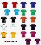 简单服装配色