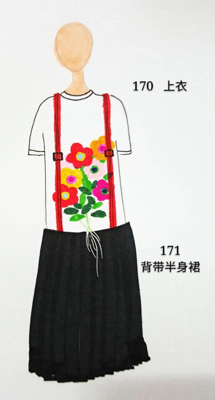 花朵上衣作品-花朵上衣款式图