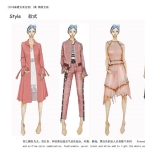 2018春夏女装系列及职业装设计