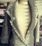 2015冬�b羊毛毛呢大衣外套