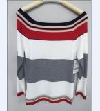 海军条纹毛衣