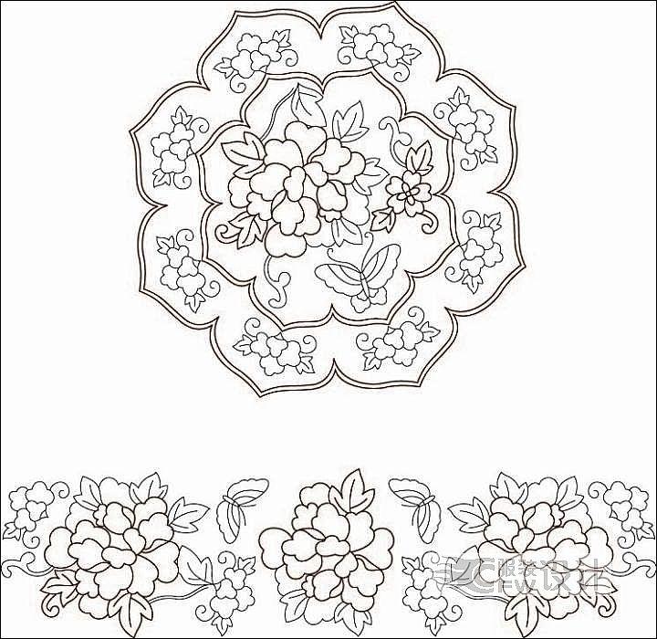 花型图案设计作品-花型图案设计款式图