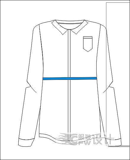 衬衫0作品-衬衫0款式图