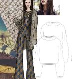 女装设计-简约民族风