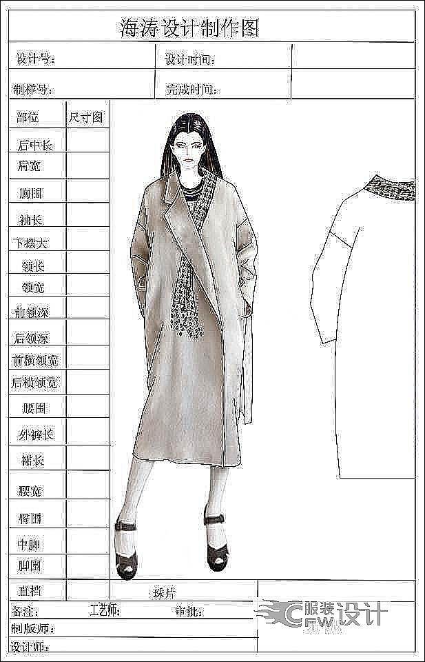 17年大衣作品-17年大衣款式图