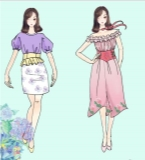 绣球花系列服装