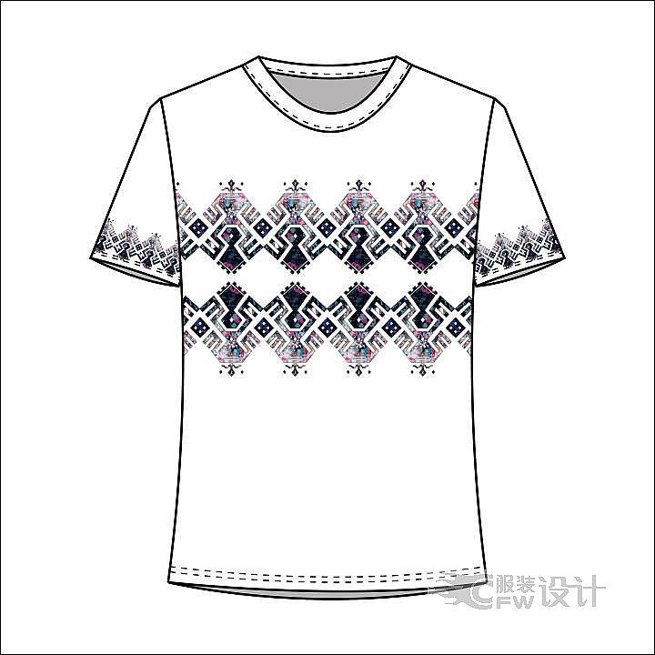 黎族图案设计产品-图案设计设计-服装设计