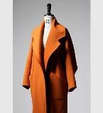 暖驼羊绒呢大衣