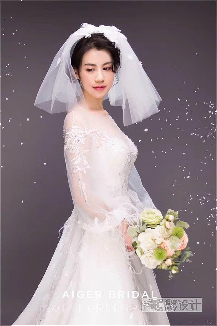 童话般的婚纱作品-童话般的婚纱款式图
