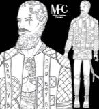 男装设计手绘图