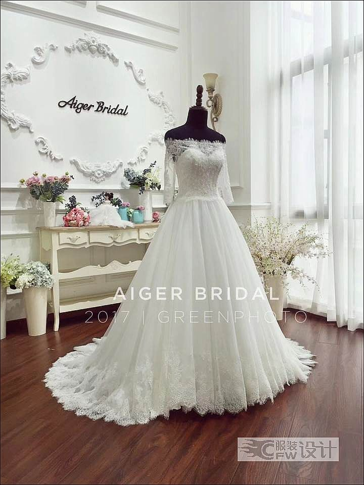 超经典的婚纱作品-超经典的婚纱款式图