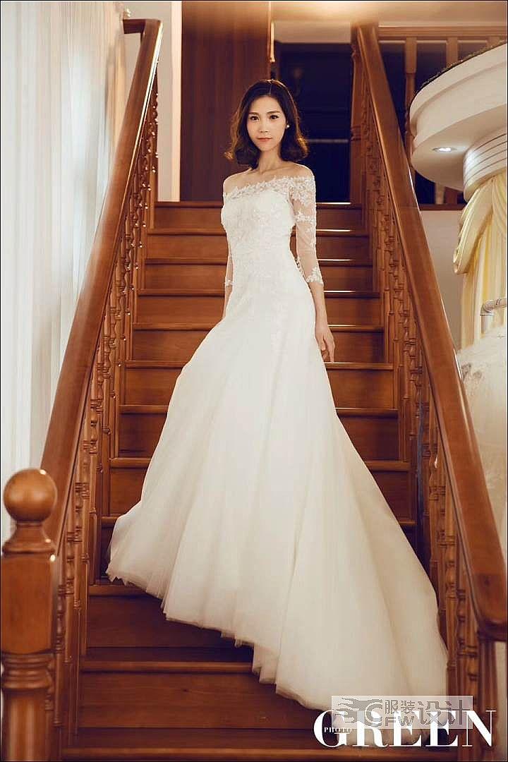 你心中完美的嫁衣是什么?作品-你心中完美的嫁衣是什么?款式图