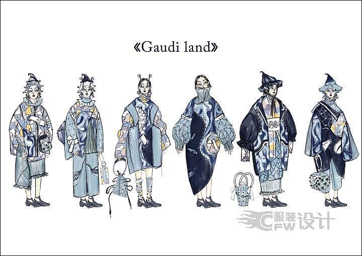 Gaudiland作品-Gaudiland款式图