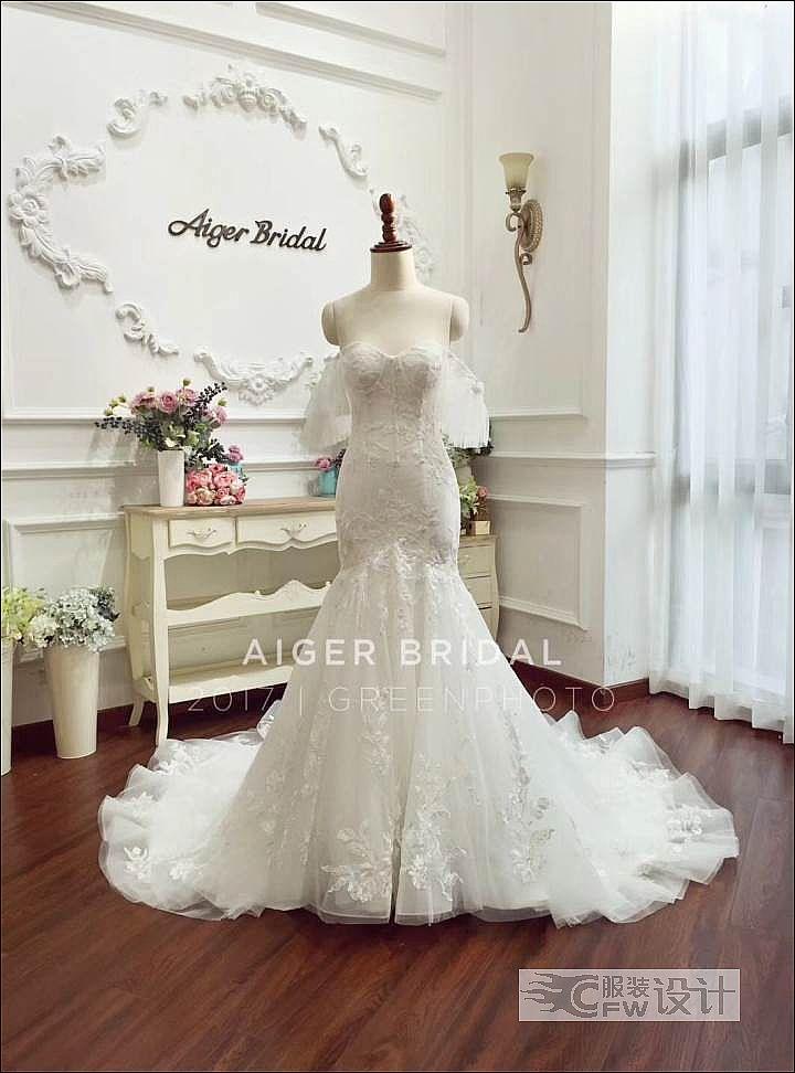新款婚纱作品-新款婚纱款式图