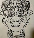 艺术史器物纹样绘制