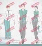 五星级酒店制服款式设计图180711