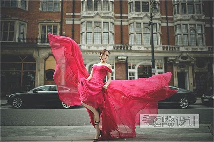 长裙作品-长裙款式图