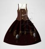 齿轮钟摆Lolita裙子设计