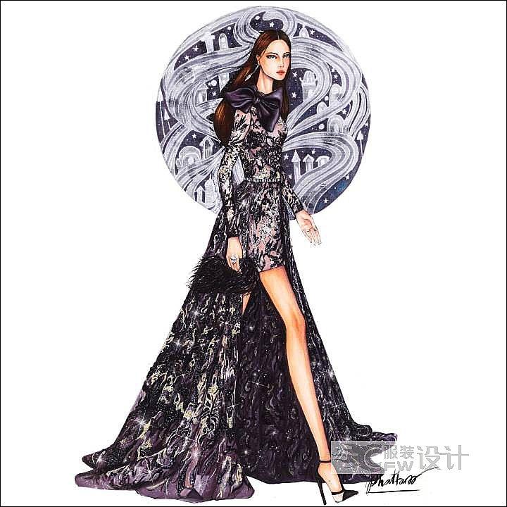 Haute Couture fall 2018作品-Haute Couture fall 2018款式图