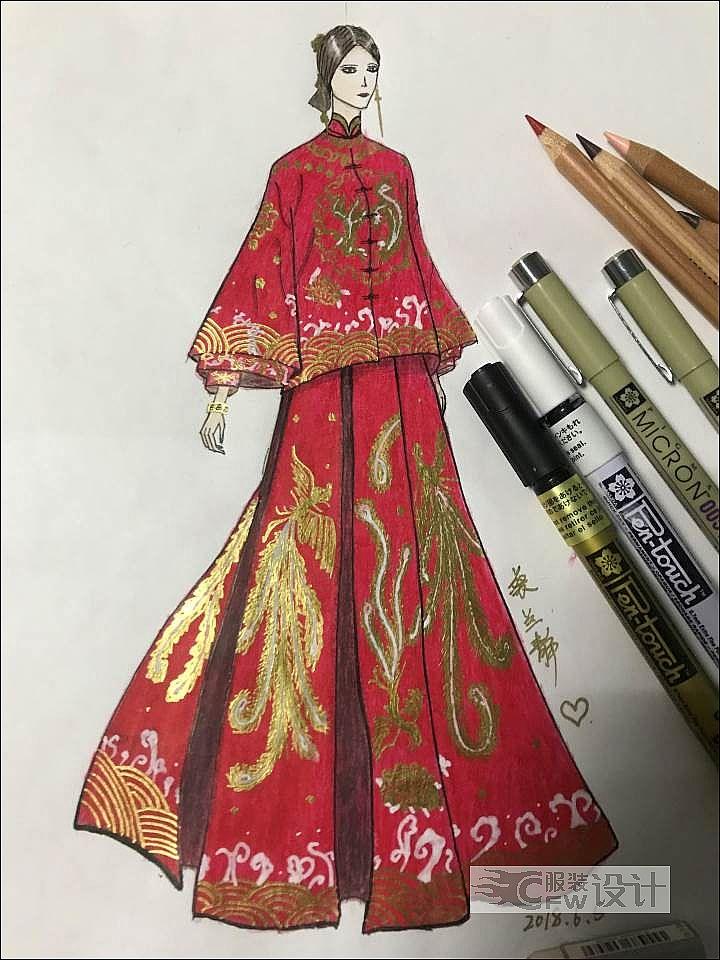 古风秀和服作品-古风秀和服款式图