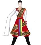 民族舞蹈服装设计