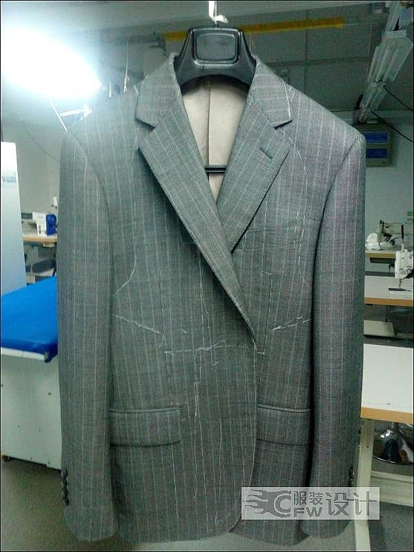 男西服订制作品-男西服订制款式图