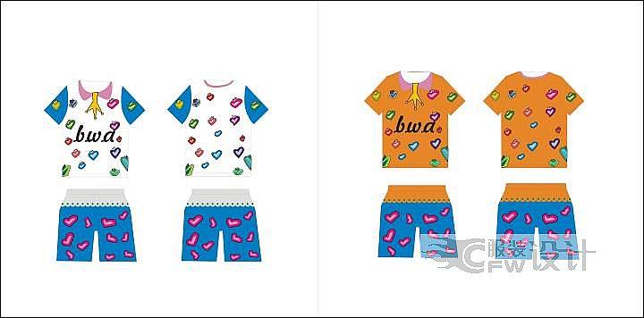 夏童装作品-夏童装款式图