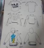 手绘图和一些样衣