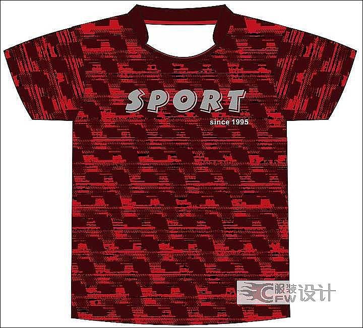 羽毛球服系列作品-羽毛球服系列款式图