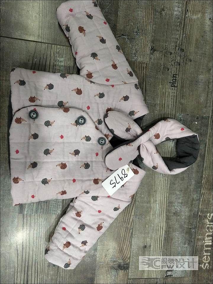 小棉衣作品-小棉衣款式图