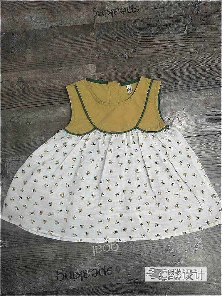 小裙作品-小裙款式图