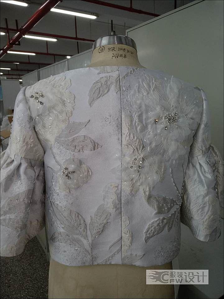 婚纱外套作品-婚纱外套款式图