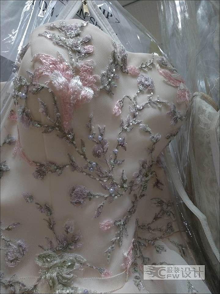婚纱及小样作品-婚纱及小样款式图