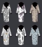 针织大衣提花系列