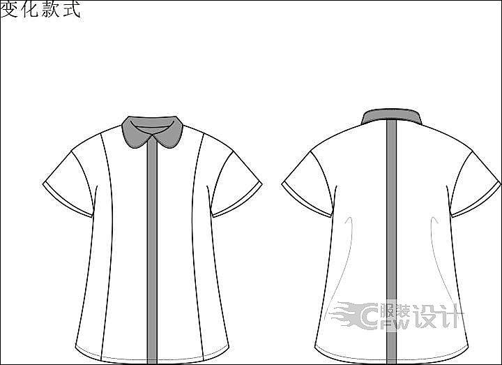 衬衫3作品-衬衫3款式图