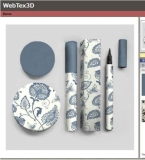 WebTex3D — 在线可贴图,模拟的新概念销售策略
