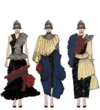 千千结-面料肌理在服装设计中的应用