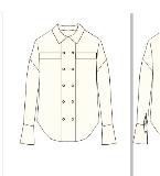 我参与设计的双排扣衬衫