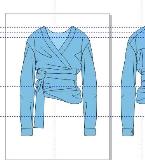 腰部绑带衬衫