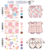 手绘婴童服装印花