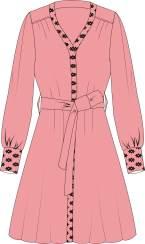 原创衬衫裙