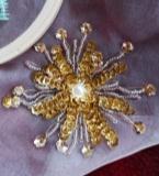 法式珠绣-花卉2